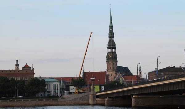 St.Peatures Church In Riga. Riga Tours.