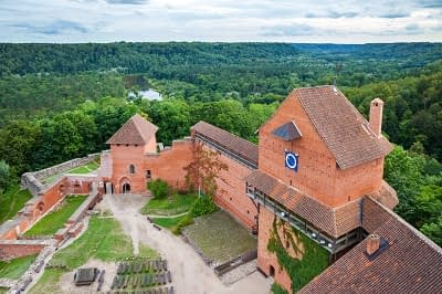 Turaida Castle, Sigulda, Latvia
