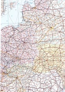 Amber way map