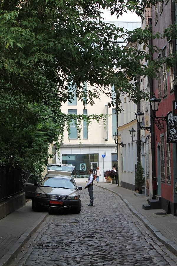 Old Riga small streets