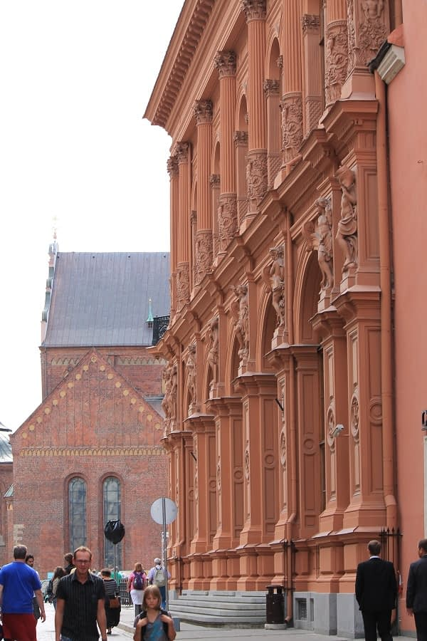 Nice architecture in Riga old town