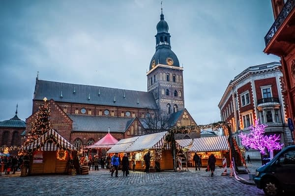 Christmas Time In Riga