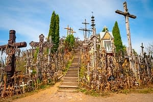 Day Trip to Hill of Crosses from Riga
