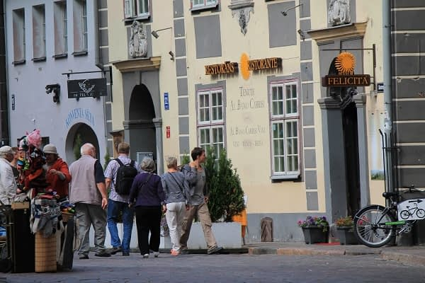 Old Riga streets