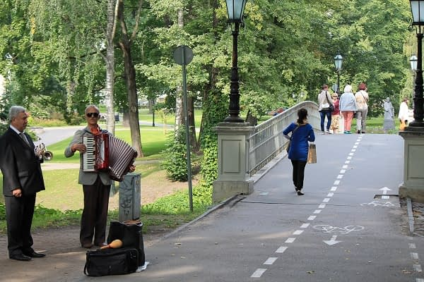 Musicians in Riga